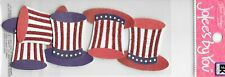 JOLEE'S Boutique By You Patriotic Hats Dimensional Embellishments American