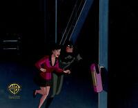 Warner Brothers Animated Series Production Cel Lois/Batman--World's Finest Pt 3