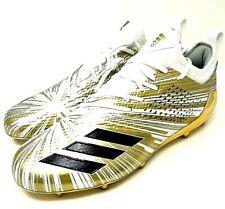 Adidas Adizero 5-Star 7.0 Gold Metallic Football Cleats CQ0345 Men's Size 10.5