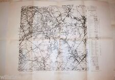 WWII US Army 29th Division Field Map Herzogenrath Germany September 1944