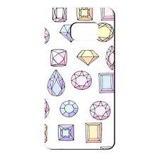 Para Samsung Galaxy S7 Silicona Funda Bling Diamantes Rosa Violeta Amarillo-S660