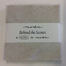 """SALE - Behind the Scenes by Jen Kingwell for Moda Charm Pack - 5"""" squares"""