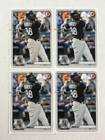 LUIS ROBERT LOT OF 4 2020 Bowman ROOKIE BASE RC's #18! INVEST! WHITE SOX!