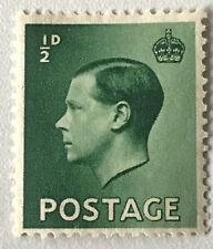 Stamp Great Britain 1936 1/2d King Edward VIII Unused
