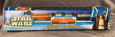 2002 AOTC Rare Orange JEDI Lightsaber Star Wars NIB Hasbro