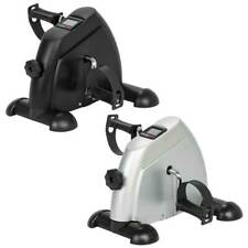Mini Cardio Exercise Bike Leg Arm Machine Cycle Pedal Office Indoor Silver/Black