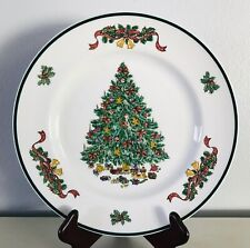 Victorian Christmas Dinner Plate Johnson Brothers Holiday Dinnerware 10-1/4""
