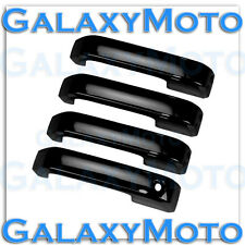 15-16 Ford F150 Truck Gloss Black 4 Door handle Cover W/O Smart Keyhole Kit 2015