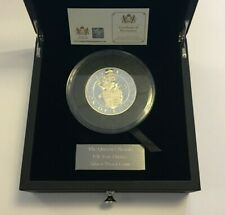 2017 UK Queen's Beasts 'Lion of England' 10oz Silver Proof Coin - Damaged PGA