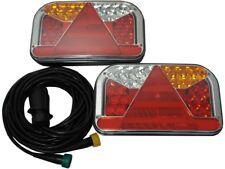LED-RückleuchtenSET für Anhänger - inkl. 7m Kabelbaum 13polig - Beleuchtung