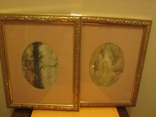 Sulamith Wulfing Girl With Wings & Conversation Prints Framed