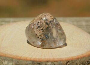 Lodolite Scenic World Clear Quartz Crystal for Meditation Healing and Dream Work
