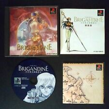 BRIGANDINE PlayStation NTSC JAPAN・❀・TACTICAL RPG ADVENTURE PS1 ブリガンダイン 幻想大陸戦記