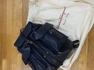 Salvatore Ferragamo Mens Backpack NWT