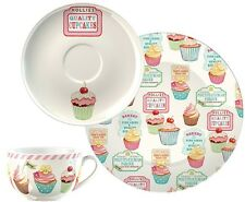 Creative Tops Retro Treats Cup Saucer and Side Plate Afternoon Tea Set