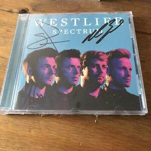 Westlife - Spectrum  Signed CD Autographed Sealed