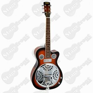 BRYDEN RESONATOR GUITAR ACOUSTIC ELECTRIC MAHOGANY TOP BACK AND SIDES BRE2ETS