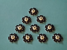 10 x 3W 940nm IR POWER  LED on HEATSINK Kühlkörper Emitter Infrarot Infrared 5mm