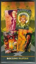 JIMI HENDRIX Full Sealed Box 24 packs 1 1/4 cigarette rolling papers 4 designs