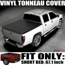 "Hidden Snap Tonneau Cover 04-14 Ford F150 Supercrew/Mark LT 5.5 Ft 66"" Short Bed"