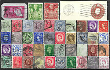 Great Britain - 44 older used stamps - See Scan