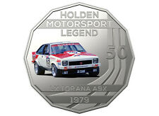 2018 Holden Motorsport Collection RAM 50c Coin - 1979 LX Torana A9X