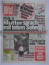 Bild Zeitung 27.1.1986, Fiona Watson, Loriot, Christie Brinkley, Julia Biederman