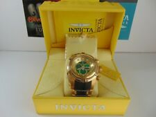 """Invicta Reserve 53mm Bolt Zeus """"Swiss"""" Chronograph 18K Ion-Plated Gold SS Watch"""