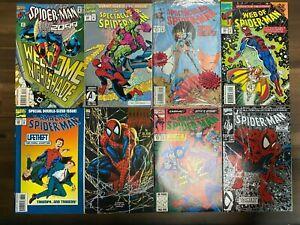 Marvel Comics SPIDER-MAN 1992 1993 1994 LOT NO DUPES SM8-B