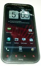 HTC Droid Incredible 4G LTE - 8GB - Black (Verizon) Smartphone Cracked Glass