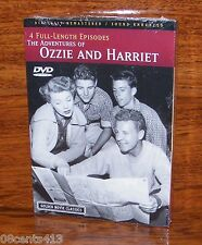The Adventures of Ozzie and Harriet (Digitally Remastered DVD) 4 Episodes! *NEW*
