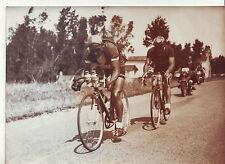 photo presse cyclisme  ROLLAND et TACCA TOUR DE FRANCE 1950 niort bordeaux
