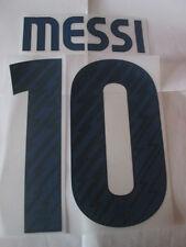Messi 10 2010-2011 BARCELONE AWAY football shirt nom set id sportives adulte