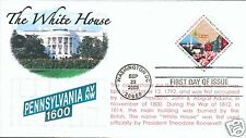 COVERSCAPE computer generated White House and DC FDC
