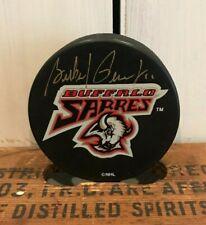 Gilbert Perreault Signed Autographed Signature Nhl Buffalo Ny Sabres Hockey Puck