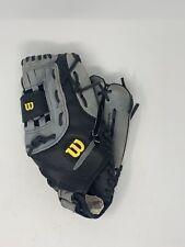Wilson A360 Baseball Softball Glove Mitt Grey Black Right Hand Thrower Fits LH