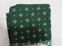 Longaberger Napkins Set of 2 Heritage Green   New in Package