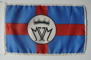 J. Müller AG, Brake/Bremen, Reederei, Tischflagge, maritime desk flag