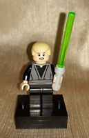 Genuine LEGO Star Wars Luke Skywalker Minifig with Lightsaber 75005 EUC