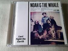 NOAH & THE WHALE - LAST NIGHT ON EARTH - 2011 CD ALBUM