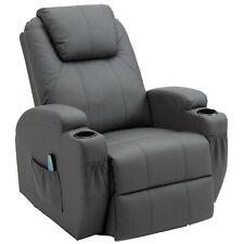 Massagesessel Relaxsessel Fernsehsessel Liegefunktion Polstersessel 360°Heizung