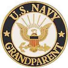 US Navy GRANDPARENT  Pin 15/16 inch