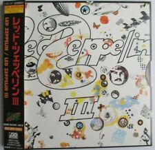 "LED ZEPPELIN - JAPAN CD VINYL REPLICA ""LED ZEPPELIN III"""