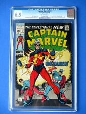 Captain Marvel #17 - CGC 6.5 - Captain America / Rick Jones & Nega-Bands