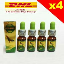 New listing Super Green Plus10 Ml Chicken Rooster Cold Fever Supplement Vitamin x 4 Bottles