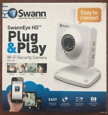 Swann Swanneye 720P HD Plug & Play Wi-Fi Day/Night Security Camera - Ads-455Cam