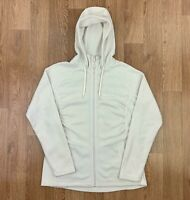 THE NORTH FACE Womens POLARTEC Hooded Fleece Jacket | Outdoors | Large L White