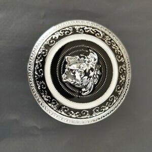 Versace Belt Buckle Silver Metal Medusa for 38-40 mm