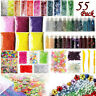 Slime Supplies Kit 55 Pack Slime Beads Charms  For DIY Slime Making As Gifts