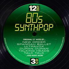 12 INCH DANCE: 80S SYNTHPOP 3 CD 30 TRACKS NEW NEW ORDER/BANANARAMA/GO WEST/+